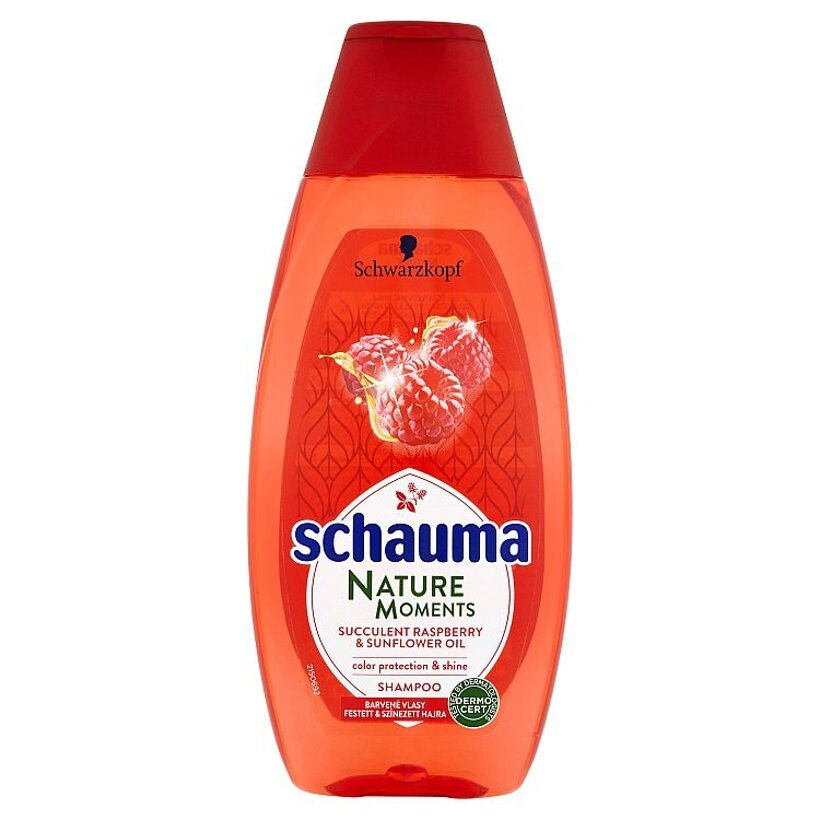 Schauma Nature Moments šampón na ochranu farby a lesk 400 ml