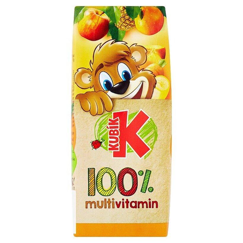 Kubík 100% multivitamín 200 ml