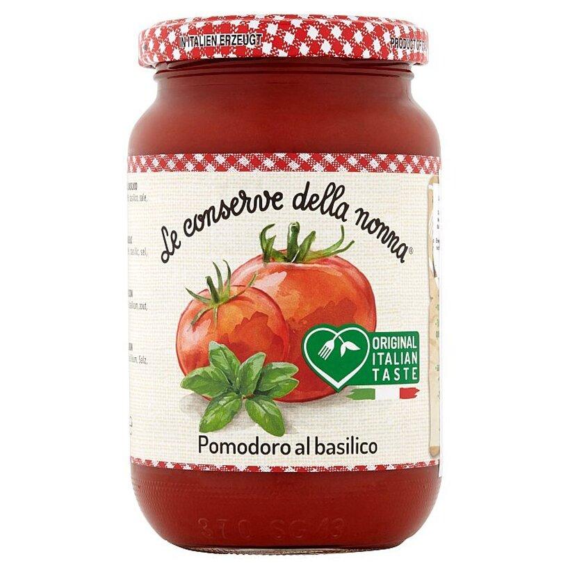 Le Conserve della Nonna Pomodoro paradajkové pyré s bazalkou 350 g
