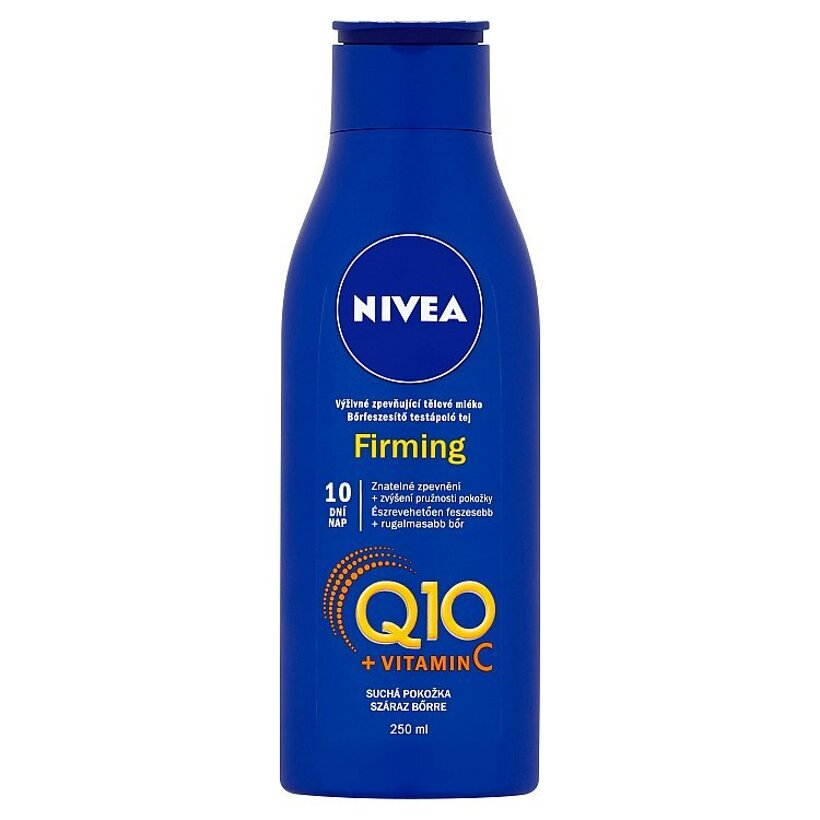 Nivea Q10 + Vitamin C Výživné spevňujúce telové mlieko 250 ml