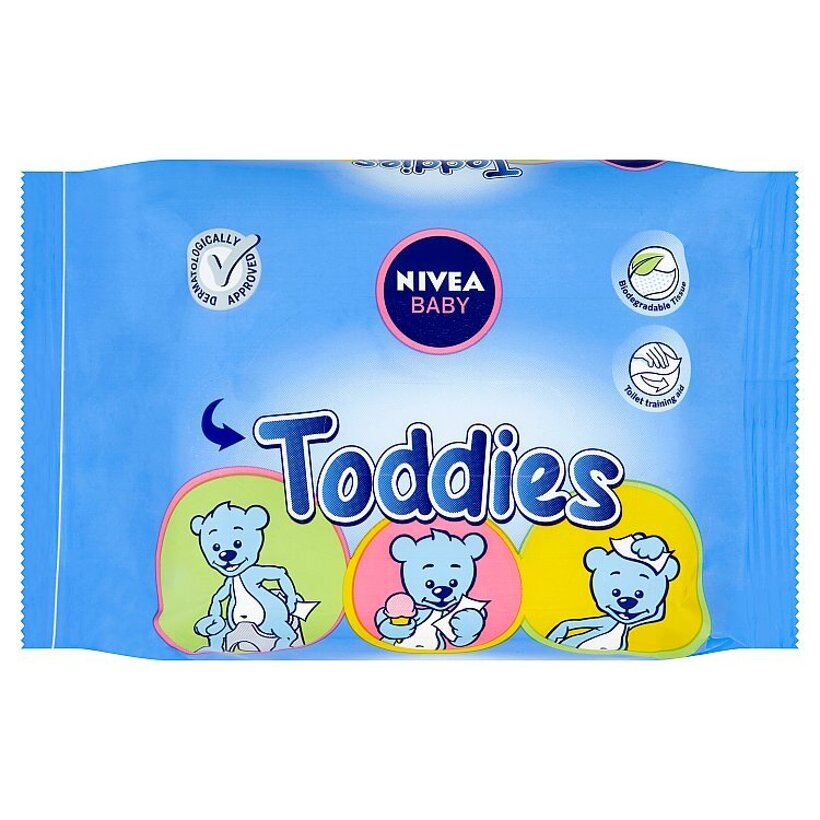 Nivea Baby Toddies Obrúsky 60 ks