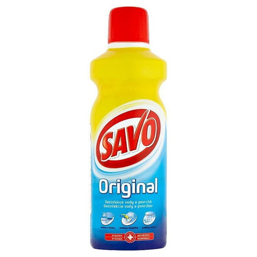 Savo Original tekutý dezinfekčný prípravok 1 l