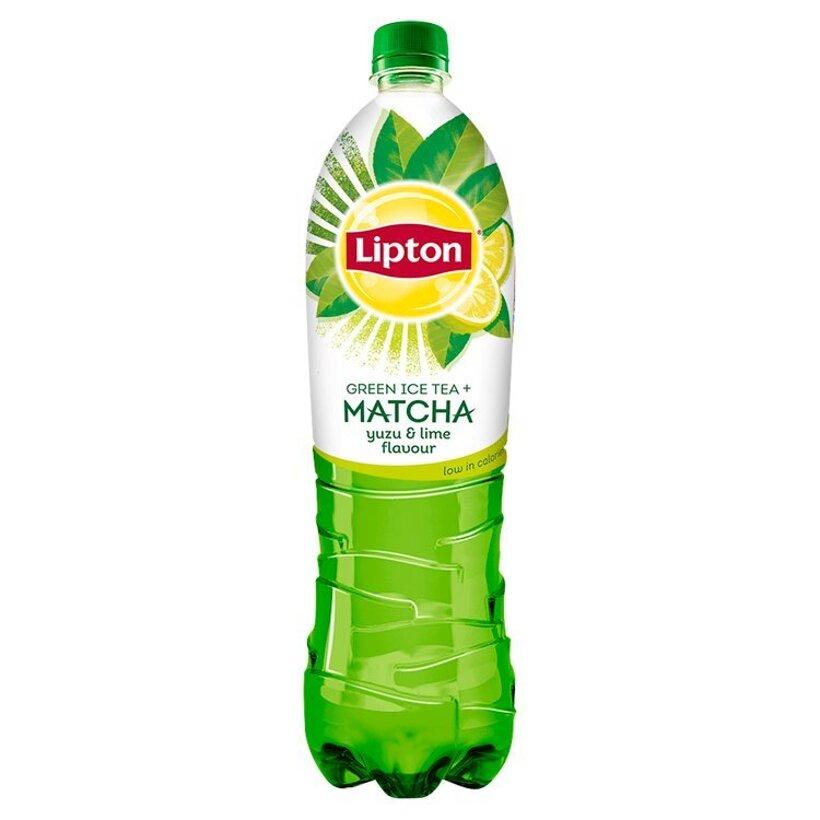 Lipton Ice Tea Matcha ľadový čaj zelený s citrusovou príchuťou 1,5 l