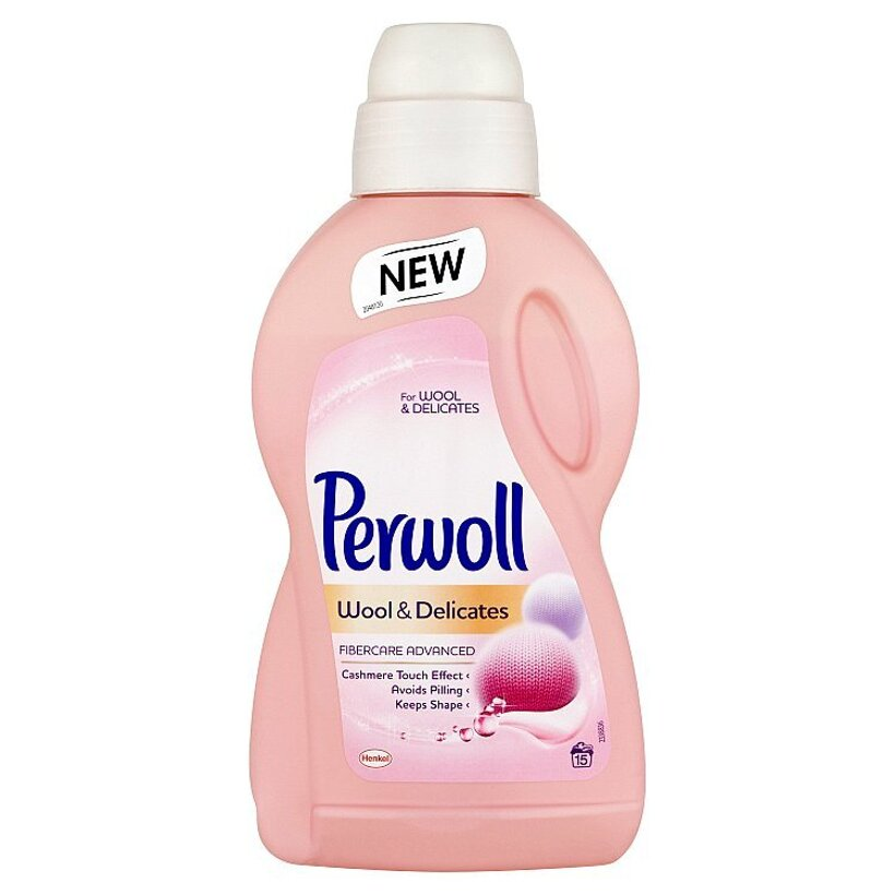 Perwoll Wool & Delicates Fibercare Advanced 15 praní 900 ml