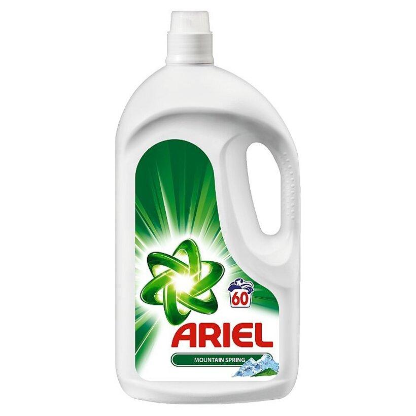 Ariel Mountain Spring Tekutý Prací Prostriedok 3900 ml Na 60 Praní