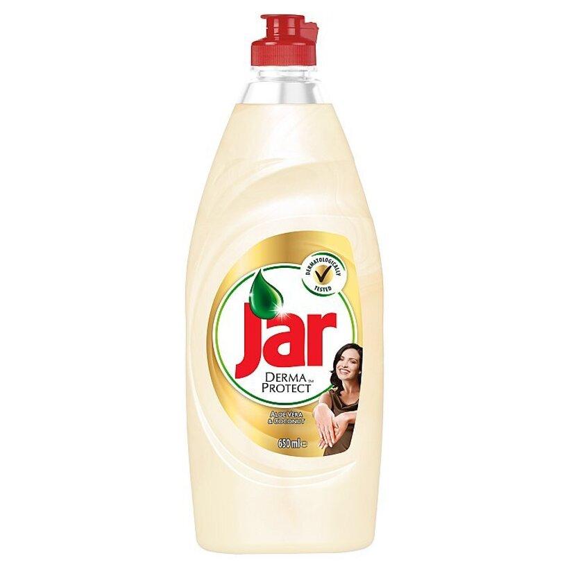 Jar Dermaprotect Aloe Vera & Coconut prostriedok na umývanie riadu 650 ml
