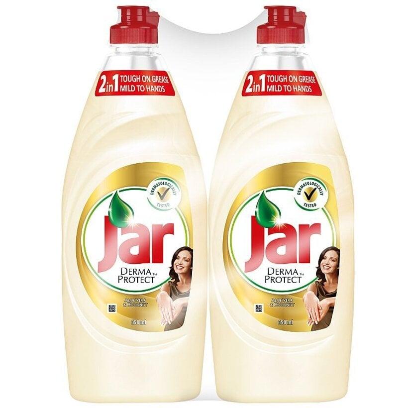 Jar Dermaprotect Aloe Vera & Coconut prostriedok na umývanie riadu 2x650 ml
