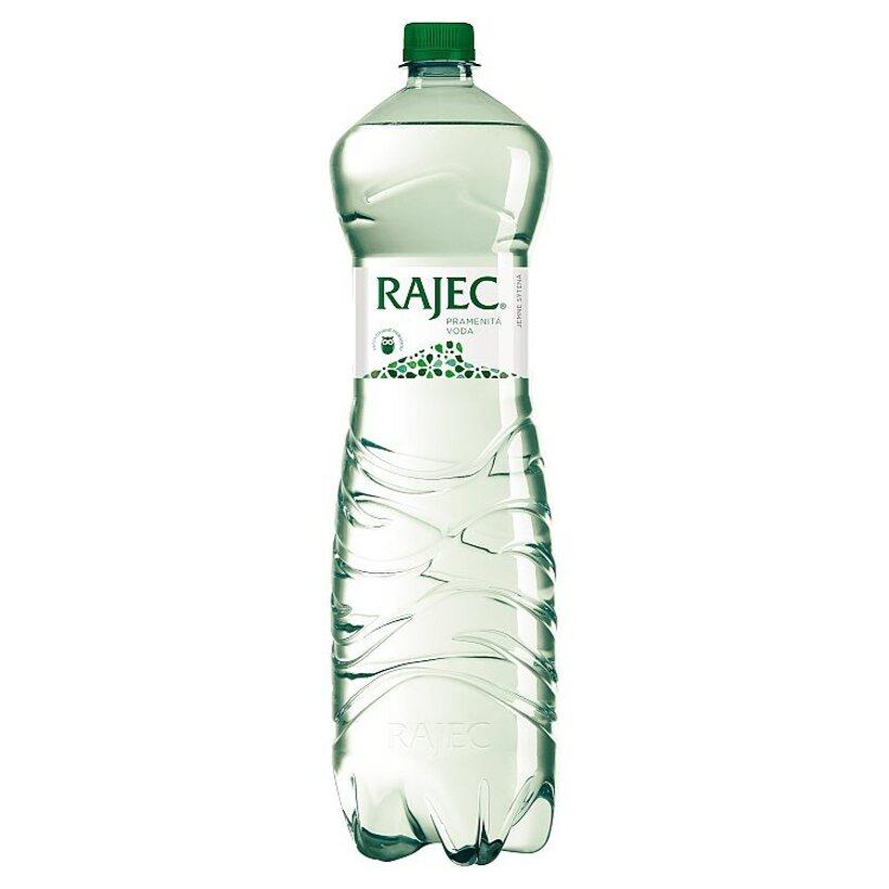 Rajec Pramenitá voda jemne sýtená 1,5 l
