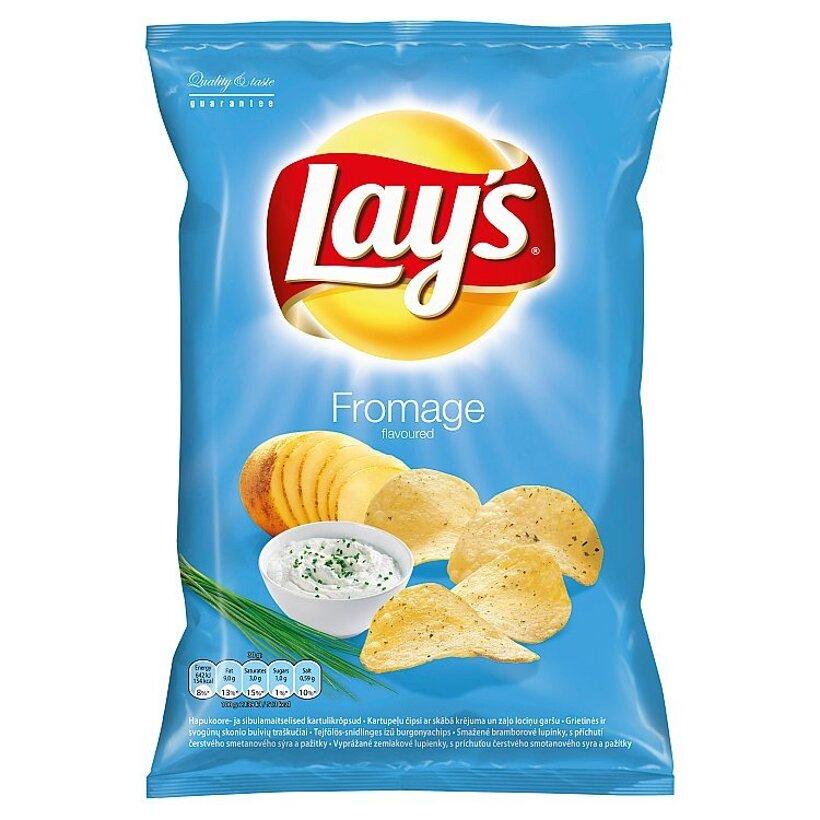 Lay's Vyprážané zemiakové lupienky s príchuťou smotanového syra a bylín 70 g