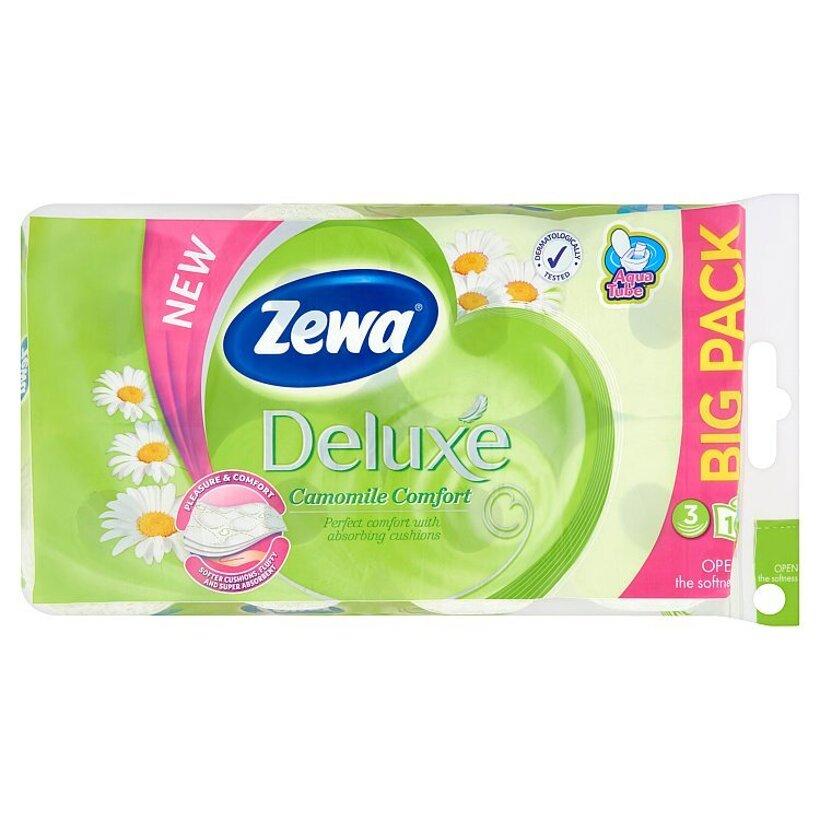 Zewa Deluxe Camomile Comfort toaletný papier 3-vrstvový 16 ks
