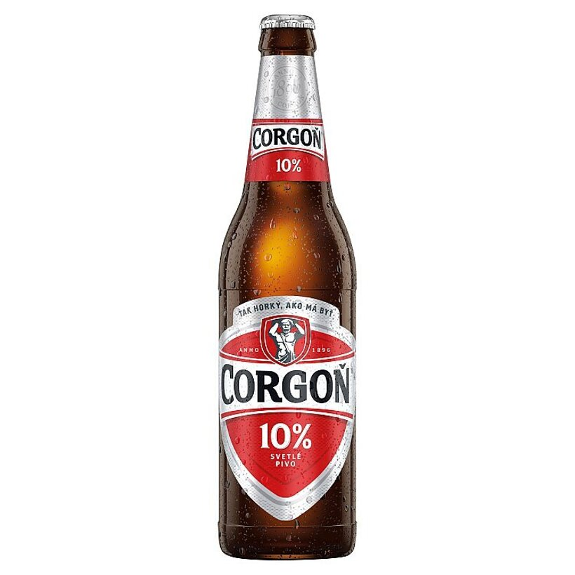 Corgoň 10% svetlé pivo 500 ml