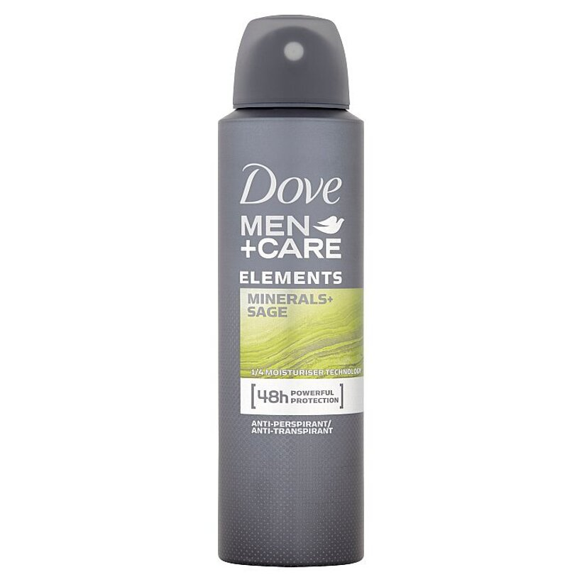 Dove Men+Care Elements antiperspirant sprej pre mužov 150 ml