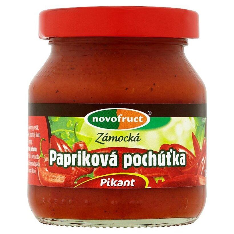 Novofruct Zámocká papriková pochúťka pikant 130 g