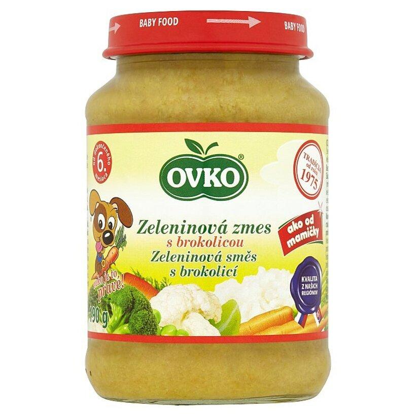Ovko Zeleninová zmes s brokolicou 190 g