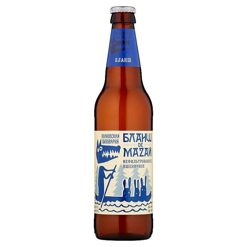 Pivo Volkovskaja pivovarnia Blanche de Mazal 0,45 l