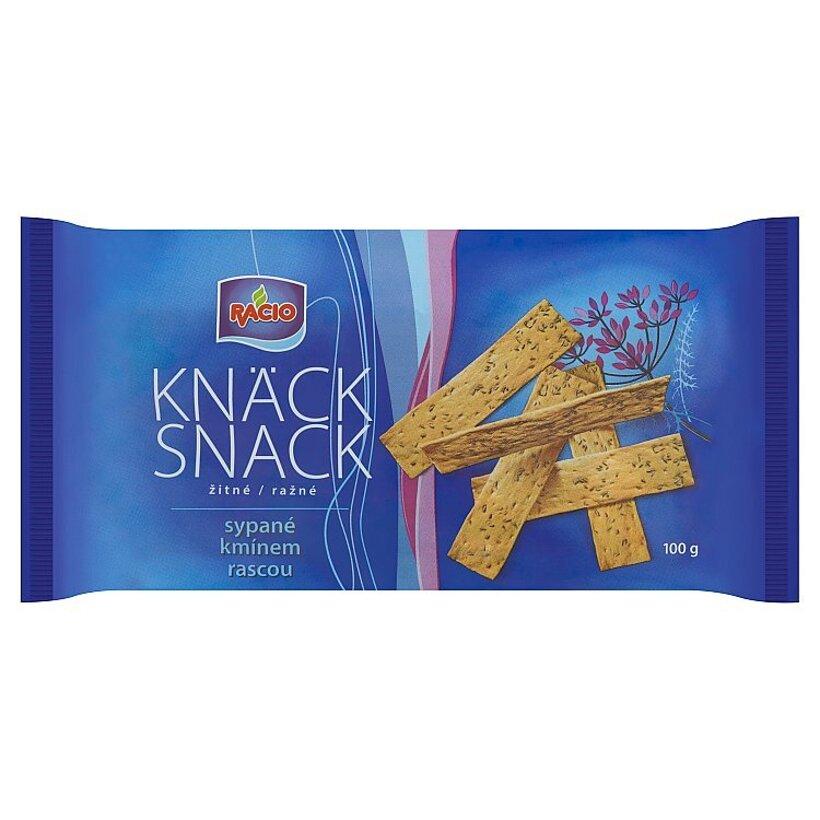 Racio Knäck Snack Ražné sypané rascou 100 g