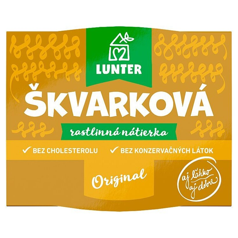 Lunter Škvarková rastlinná nátierka 115 g