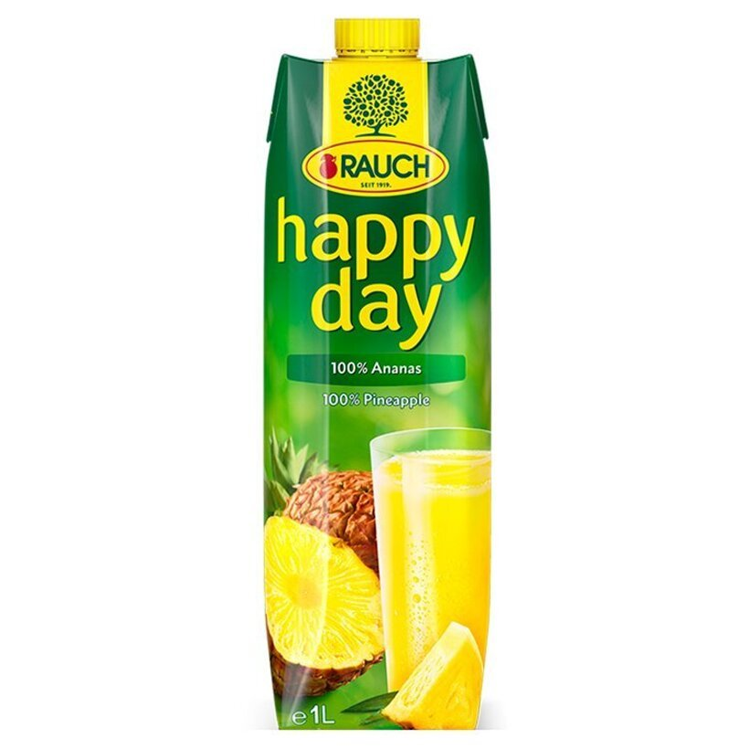 Rauch Happy Day 100% ananás 1 l