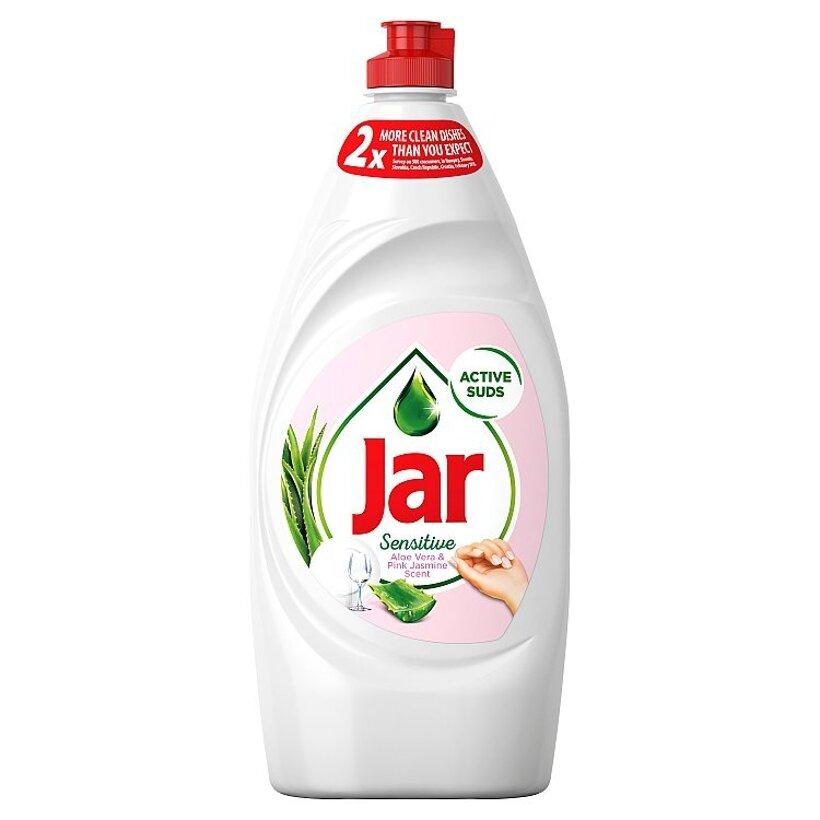 Jar Sensitive Vôňa Aloe Vera & Pink Jasmin Prostriedok Na Umývanie Riadu 900 ml