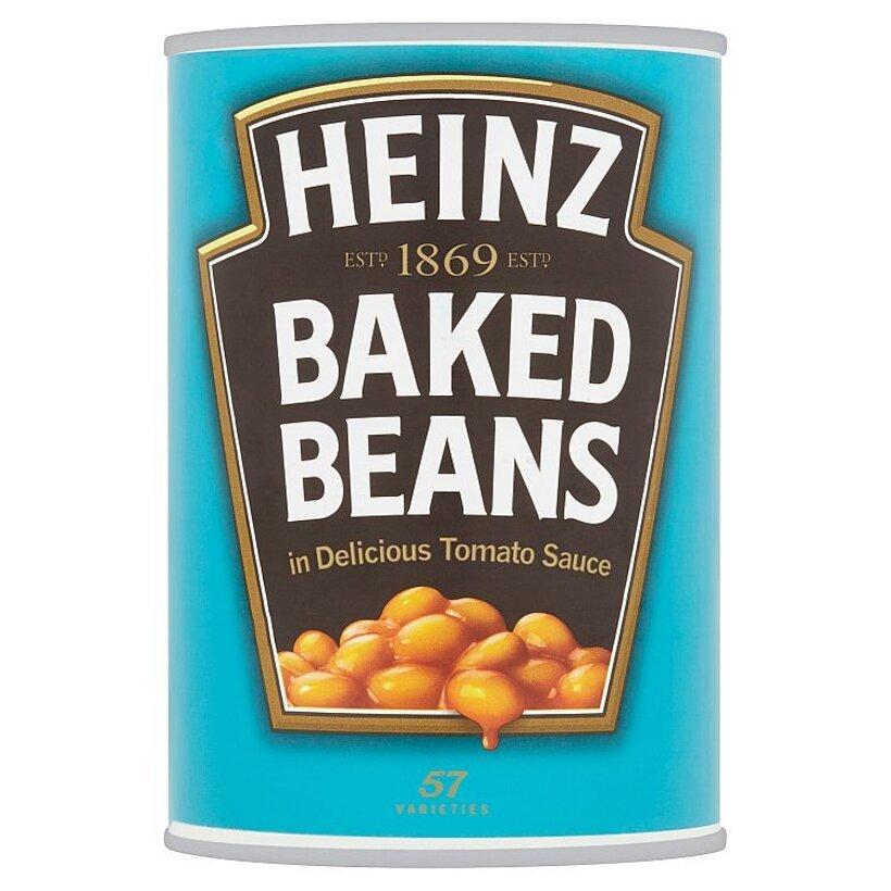 Heinz Biela fazuľa v rajčinovej omáčke 415 g