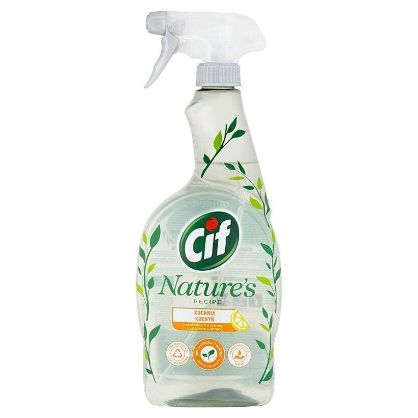 Cif Nature's Recipe kuchyňa čistiaci sprej 750 ml