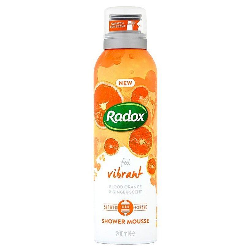 Radox Feel Vibrant sprchovacia pena 200 ml