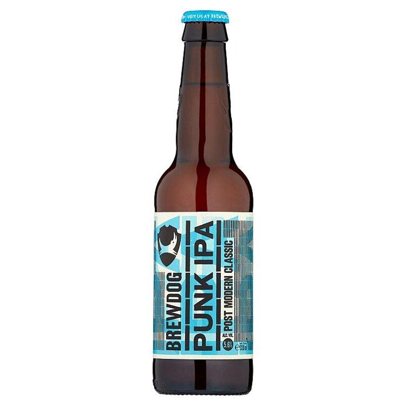 BrewDog Punk IPA vrchne kvasené svetlé pivo 0,33 l