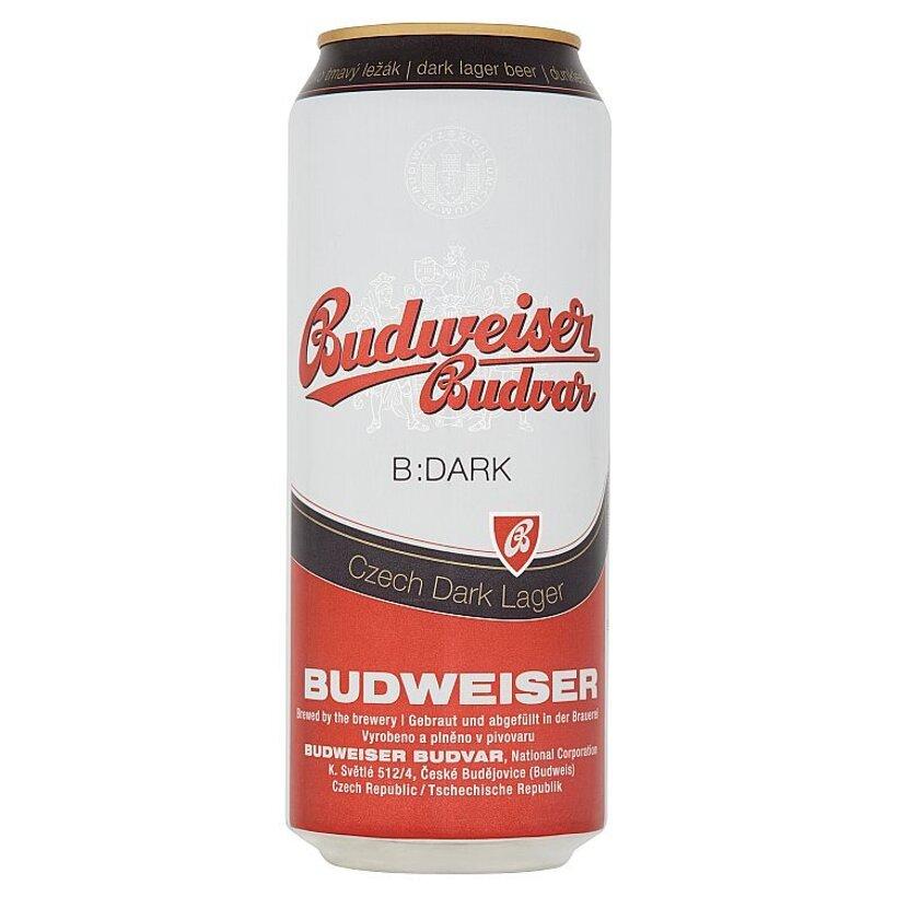 Budweiser Budvar B:Dark pivo tmavý ležiak 500 ml