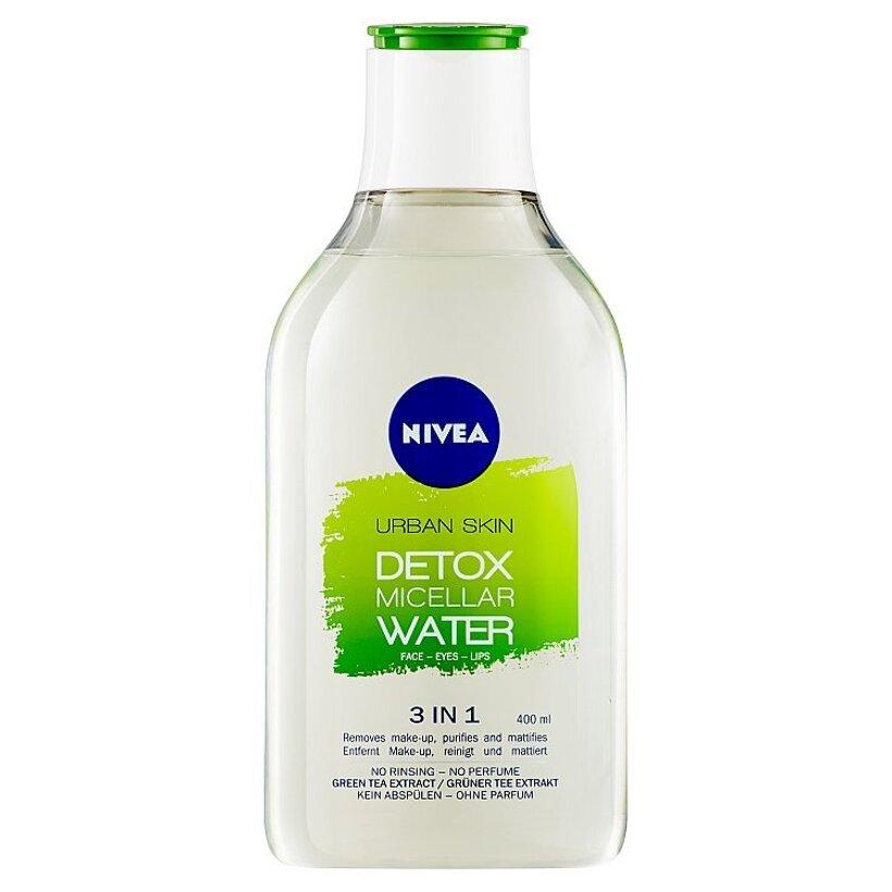 Nivea Urban Skin Detox Micelárna voda 400 ml