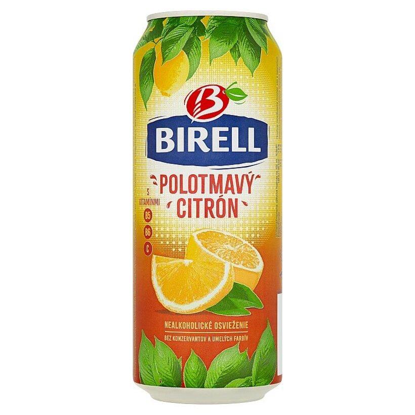 Birell Polotmavý citrón miešaný nealkoholický nápoj 0,5 l