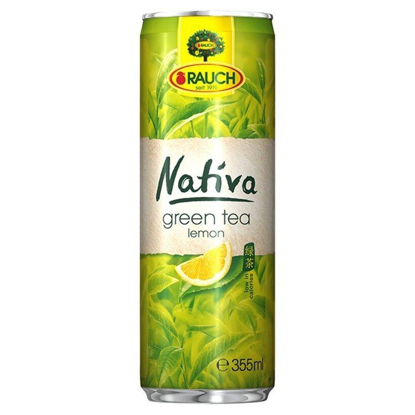 Rauch Nativa Zelený čaj citrón 355 ml