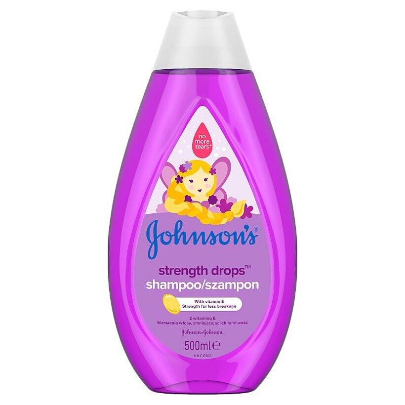 Johnson's Strength Drops Posilňujúci šampón 500 ml