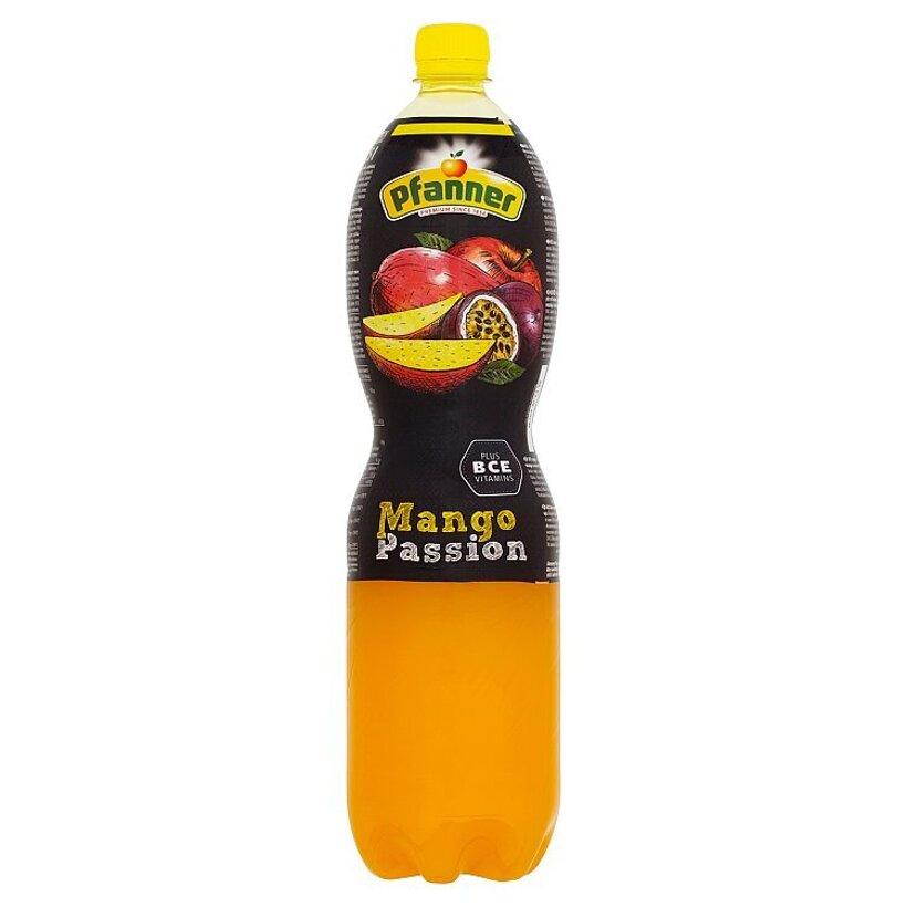 Pfanner BCE nápoj z viacerých druhov ovocia s príchuťou manga a mučenky 1,5 l