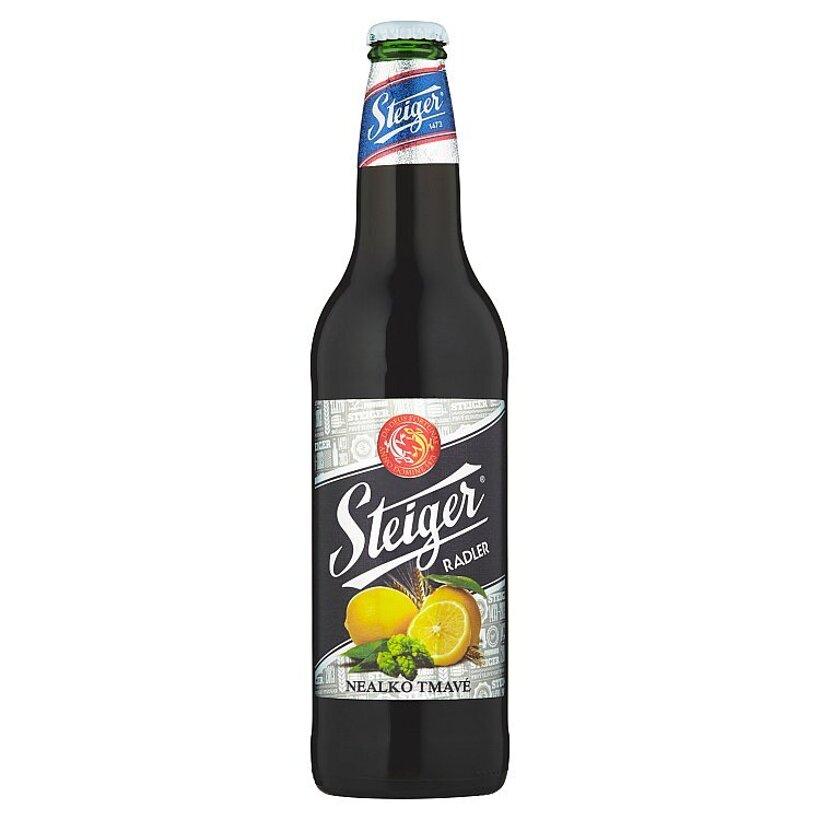 Steiger Radler nealko tmavé 0,5 l