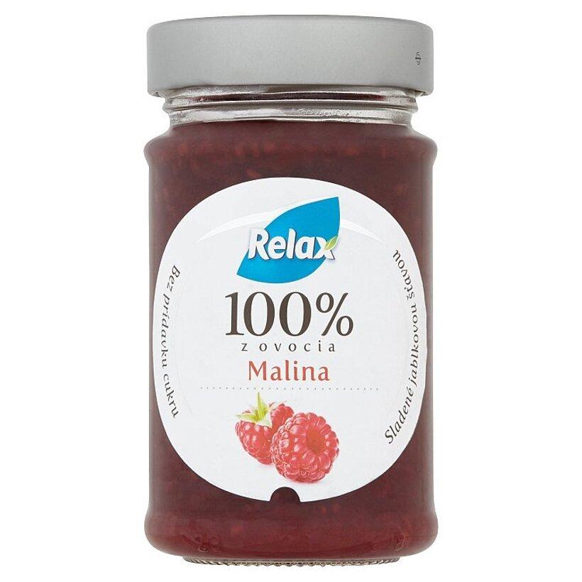 Relax 100% z ovocia MALINA 220 g