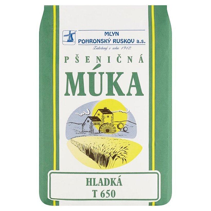 Mlyn Pohronský Ruskov Pšeničná múka hladká T 650 1 kg
