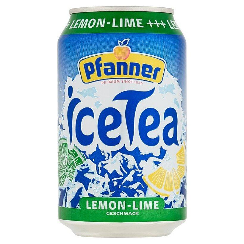Pfanner Čajový nápoj s príchuťou citrón-limeta 0,33 l