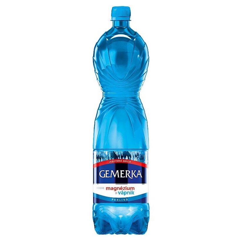 Gemerka Magnézium + vápnik prírodná minerálna voda perlivá 1,5 l