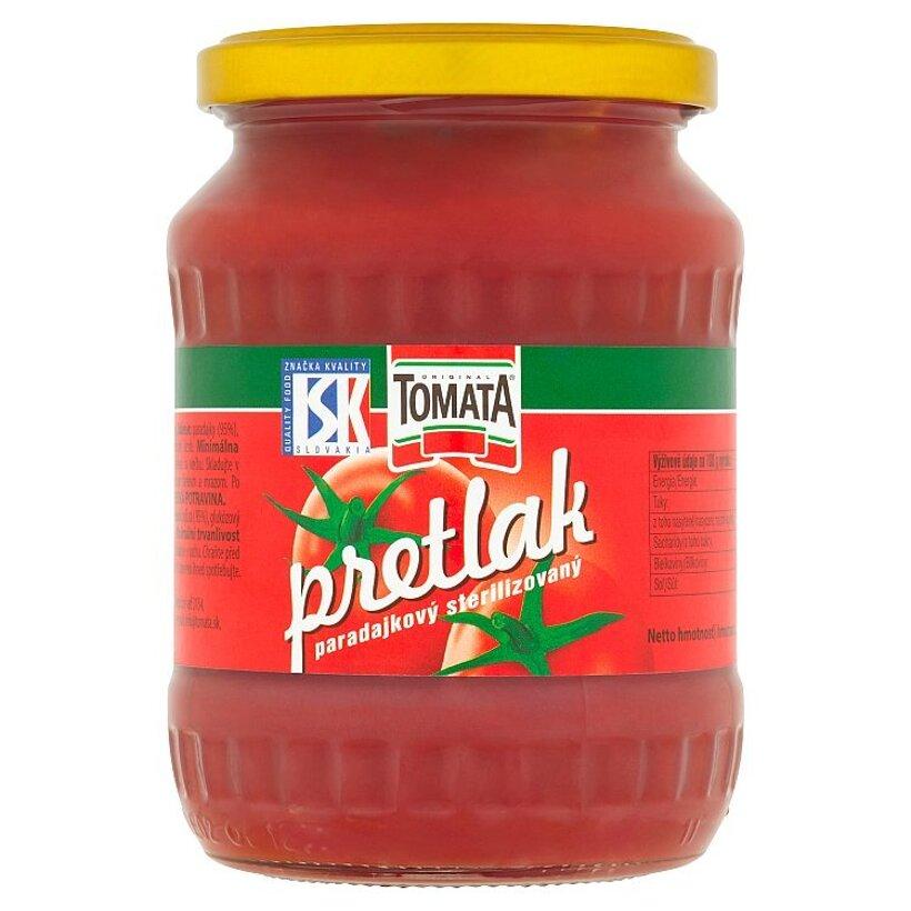 Tomata Original Pretlak paradajkový sterilizovaný 350 g