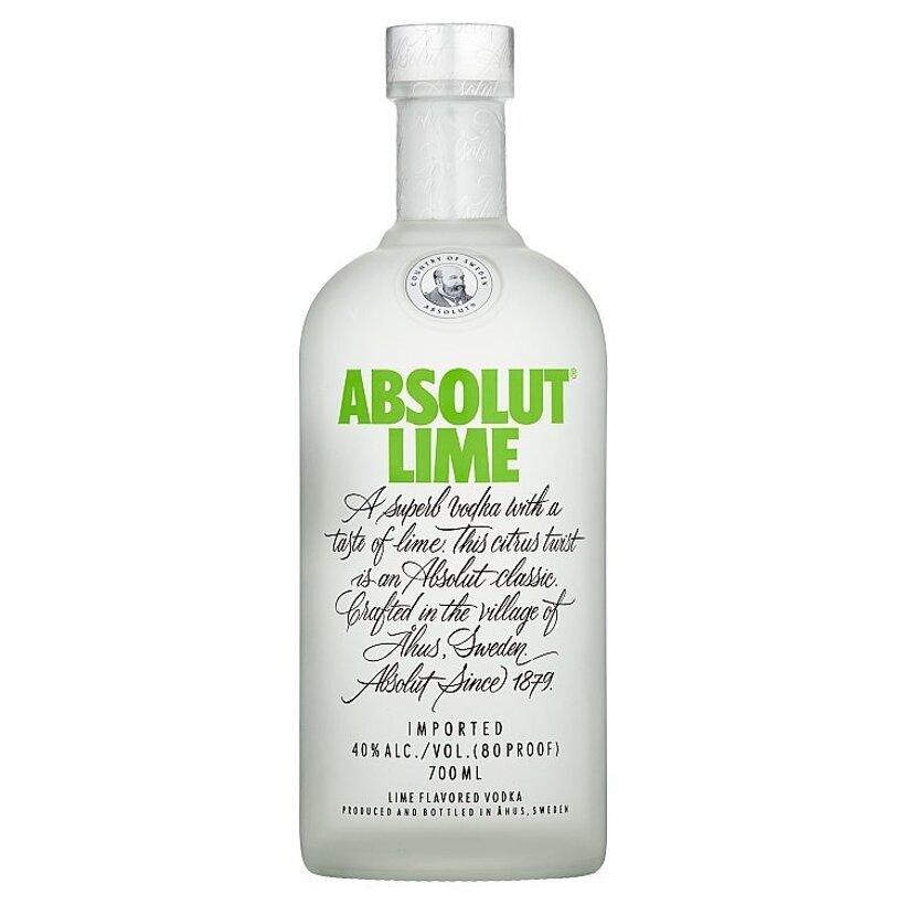 Absolut Lime Vodka s Limetkovou Príchuťou 700 ml