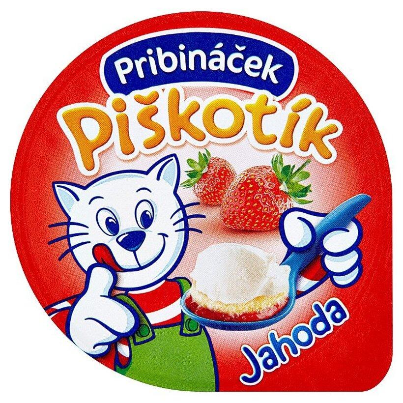 Pribináček Piškotík Jahoda 100 g