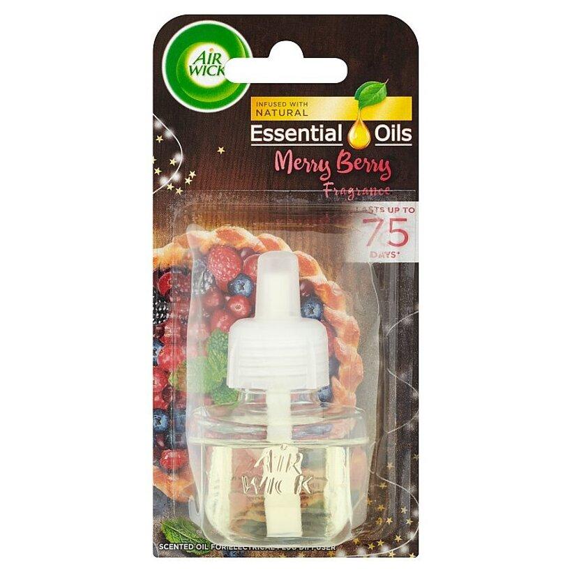 Air Wick Essential Oils Tekutá náplň do elektrického prístroja vôňa zimného ovocia 19 ml