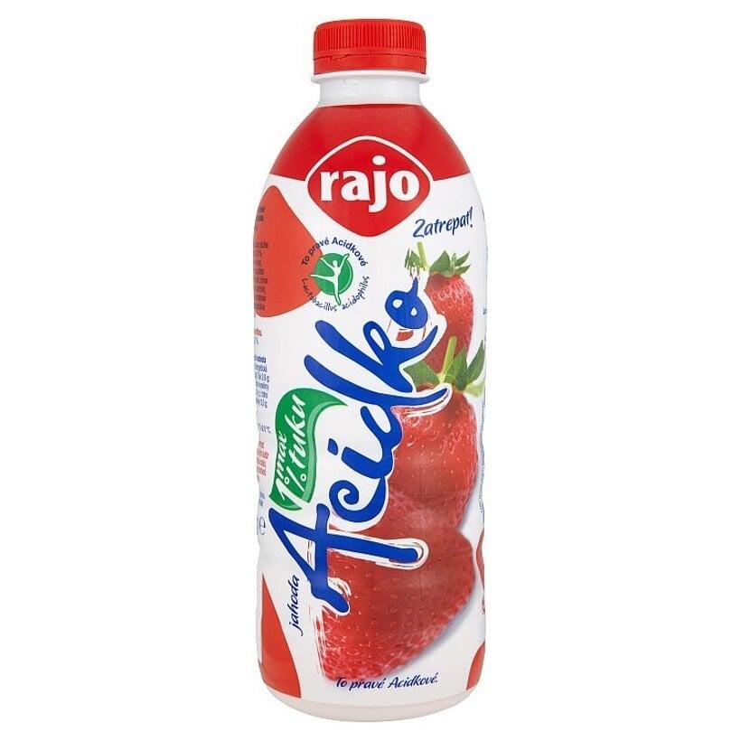 Rajo Acidko Zakysané mlieko jahoda 950 g