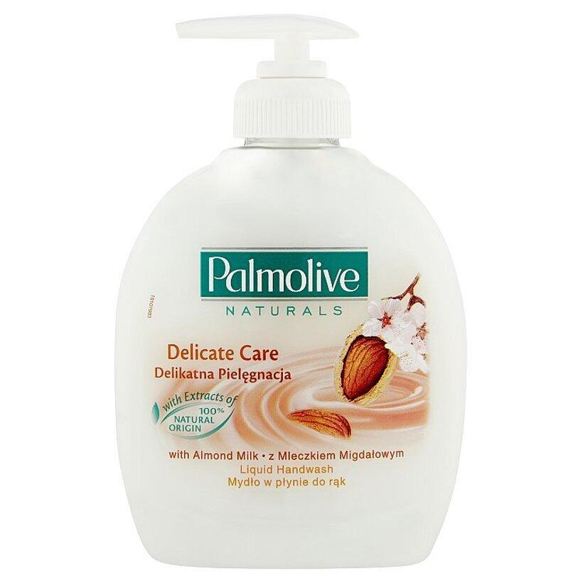 Palmolive Naturals Delicate care tekutý prostriedok na umývanie rúk mandle a aloe vera 300 ml