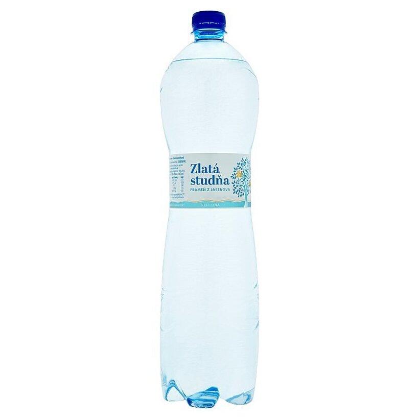 Zlatá Studňa Pramenitá voda z Jasenova nesýtená 1,5 l