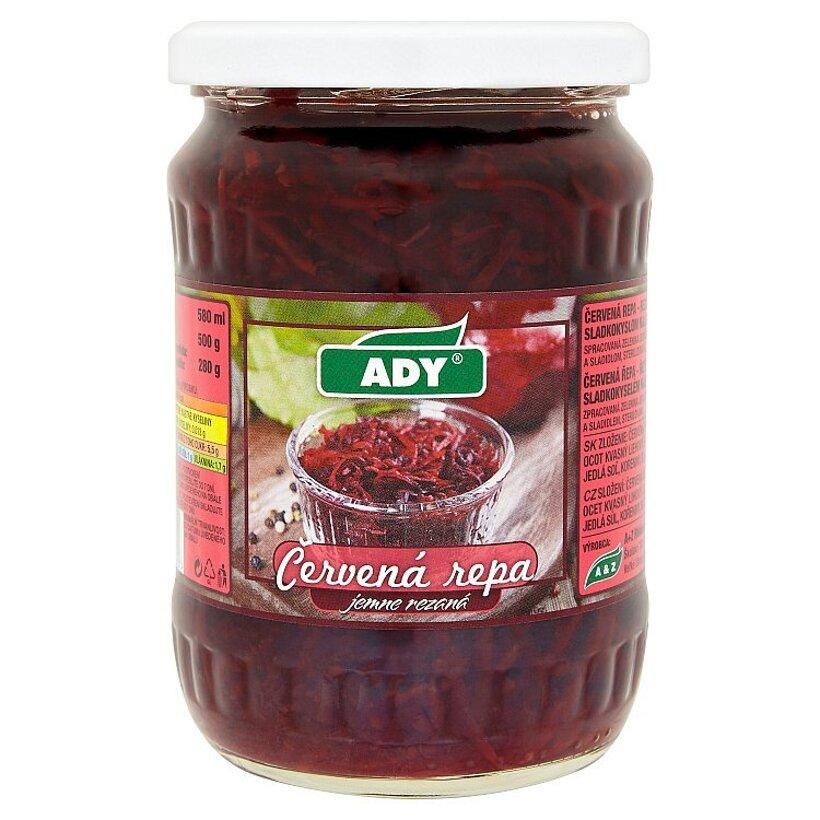 Ady Červená repa jemne rezaná v korenenom sladkokyslom náleve 500 g