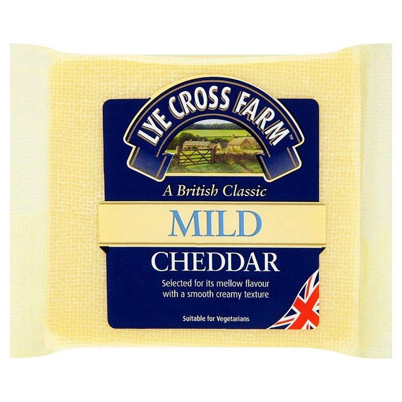 Lye Cross Farm English mild white cheddar tvrdý syr 200 g