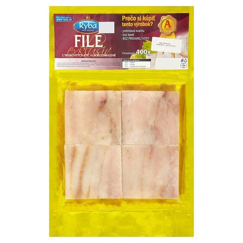 Ryba More Zdravia Filé exclusiv z treskovitých rýb hlbokozmrazené 400 g