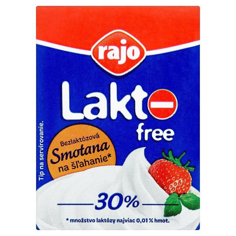 Rajo Lakto free bezlaktózová smotana na šľahanie 200 ml