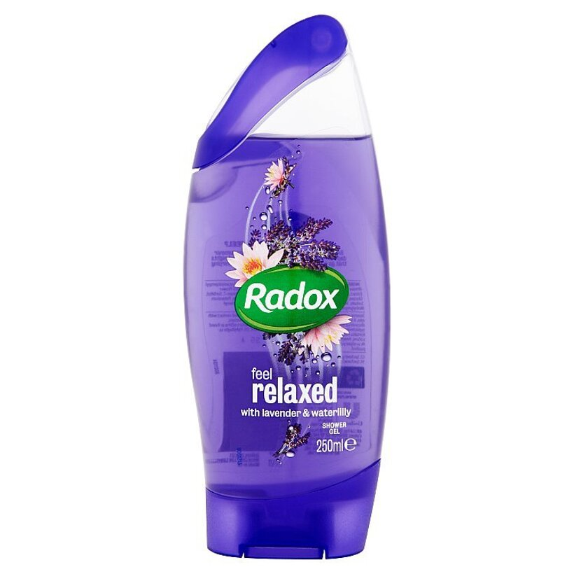 Radox Feel relaxed lavender & waterlilly sprchovací gél 250 ml
